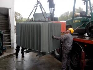 Installation d'un transformateur de 1600kva